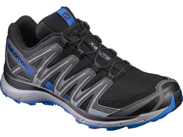 Salomon XA Lite Trailrunning Schuhe Herren black/quiet shade/imperial blue